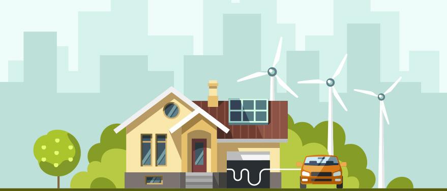 Ecco la casa autonoma che utilizza energie rinnovabili