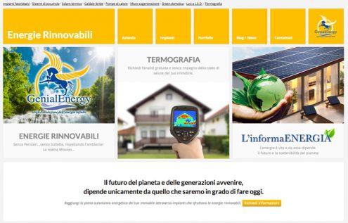 nuovo sito genialenergy dedicato alle energie rinnovabili
