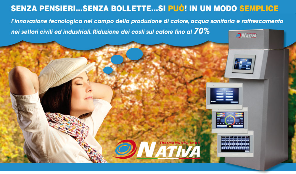 Nativa - come azzerare bollette gas e luce - ThermoMultiClimax