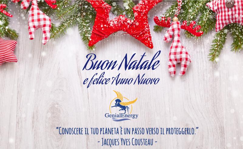 Buon Natale Particolare.Buon Natale E Felice Anno Nuovo Dal Gruppo Ecogenia