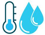 acqua di ritorno del circuito da 20 a 30 gradi