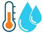 acqua di ritorno tra i 30 e i 40 gradi per il riscaldamento a pavimento