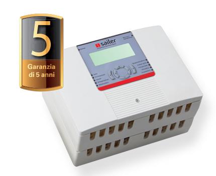 garanzia 5 anni per centralina per soluzioni compatte per la massima efficienza energetica