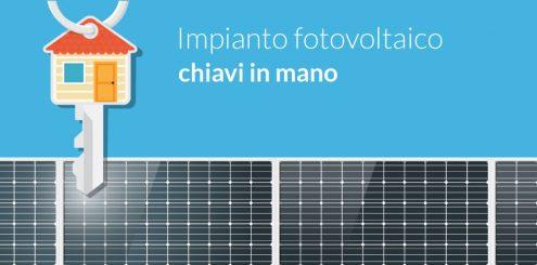 Impianto fotovoltaico chiavi in mano , scopri l'offerta sulle energie rinnovabili