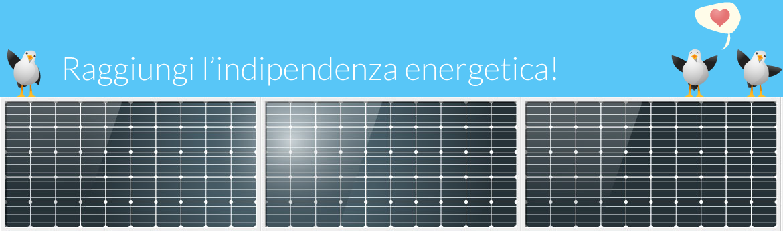 risparmio grazie ai pannelli fotovoltaici