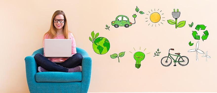 Un sistema fotovoltaico per l'autonomia energetica utilizza fonti rinnovabili