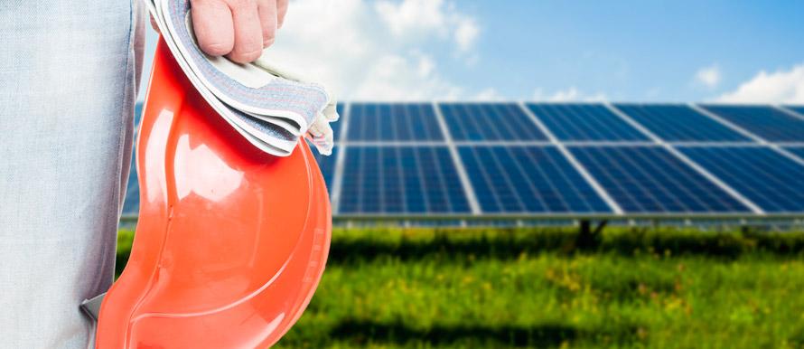 attività per la manutenzione di un impianto fotovoltaico