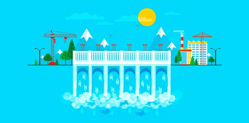 come si genera l'energia idroelettrica